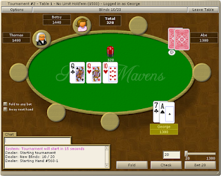 Poker Mavens: Play-money Poker Software