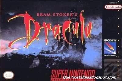 Stoker's Dracula, Juego Bram Stoker's Dracula Nes, Juego Bram Stoker