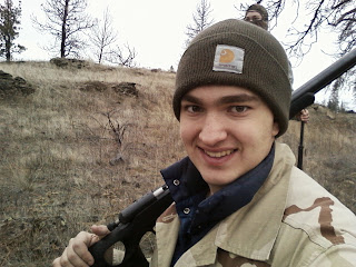 Caleb Grove hunting Anson S