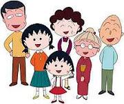 chibi maruko chan family