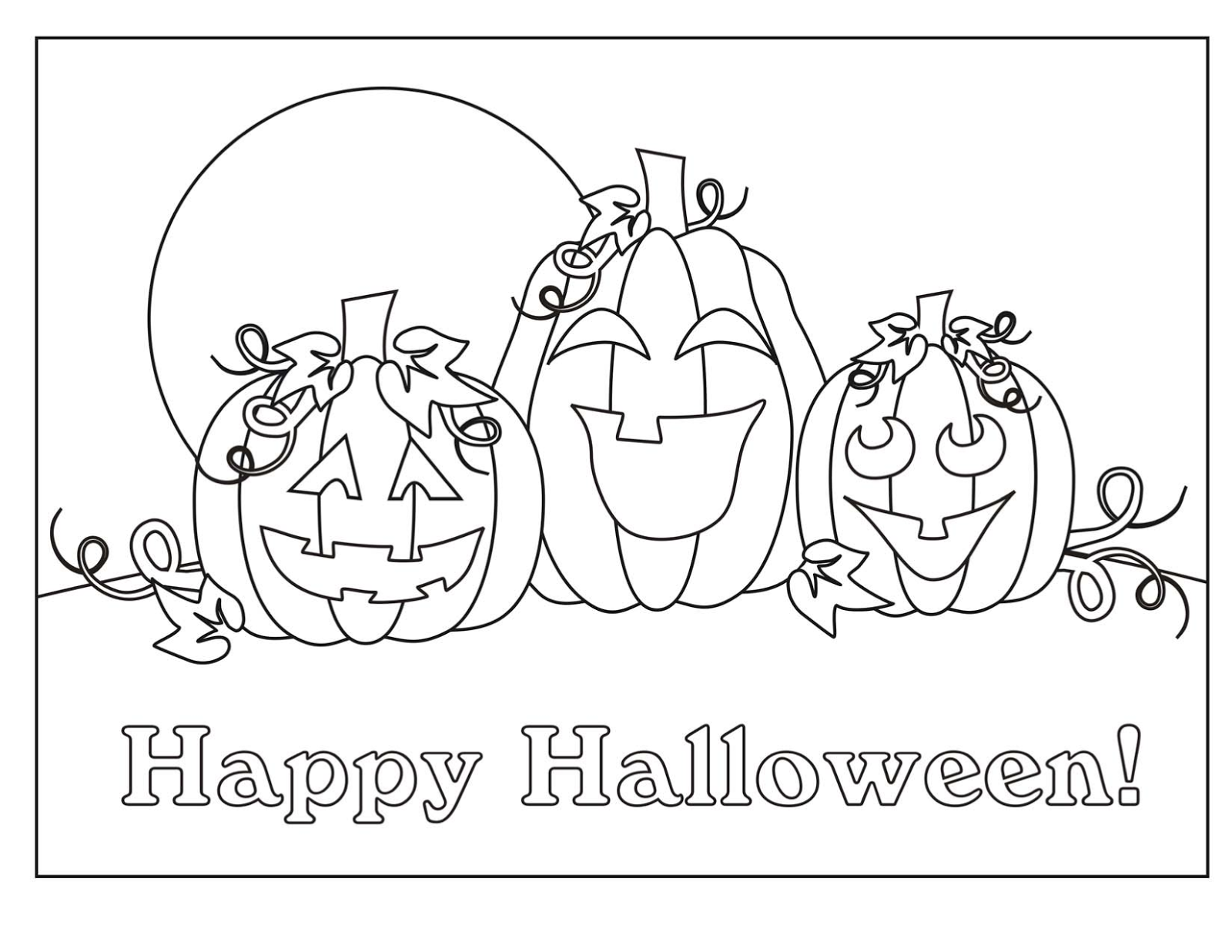 pumpkin coloring pages dltk cars - photo#12