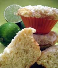 Receita de Muffins de limão com semente de papoula
