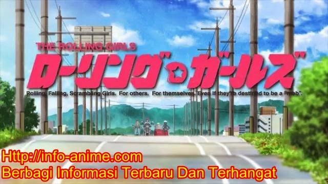[ Info-Anime ] Iklan Terbaru Anime Rolling Girls Ditayangkan