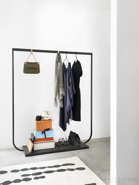 Decoraci n f cil percheros abiertos para colgar la ropa - Percheros para colgar ropa ...