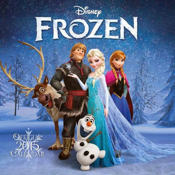 Calendario 2015 Frozen El Reino de Hielo