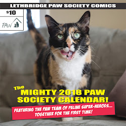 THE NEW PAW CALENDAR IS HERE!