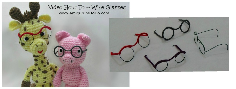 How To Make Wire Glasses For Dolls and Amigurumi ...