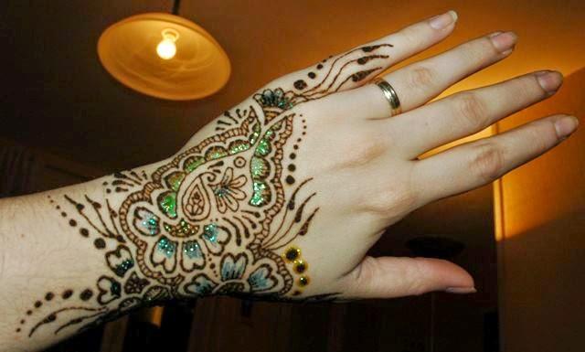 Dulhan Mehndi Designs For Full Hands 2014 : Bridal mehndi designs simple and beautiful