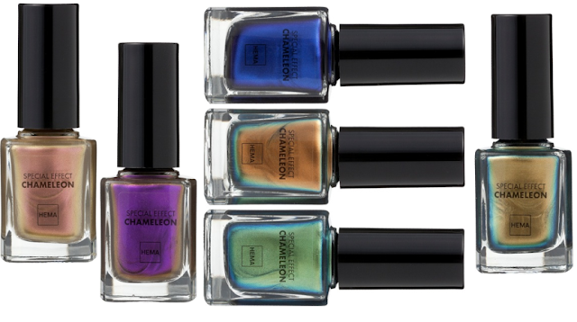 HEMA Special effect nail polishes - Chameleon