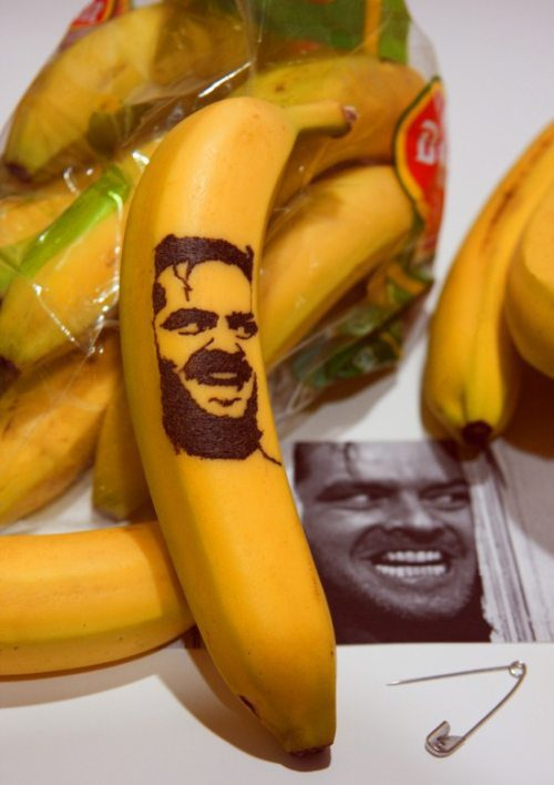 Criatividade, playing with your food, banana, o iluminado, Brincando com a comida. Até sua mãe ficaria orgulhosa com essas obras de arte!, eu adoro morar na internet