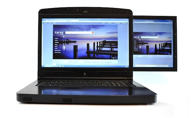 GScreen spacebook laptop double ecran 17
