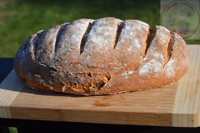 Chleb pszenny z dodatkiem twarogu i jogurtu