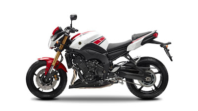 2012 Yamaha FZ8 50th Anniversary Edition