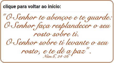 És bem-vindo(a)! agradeço muito a sua visita! A Palavra do Senhor só faz bem! compartilhe!