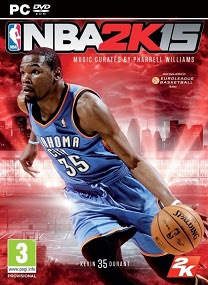 NBA 2K15 PC GAME COVER NBA 2K15 RELOADED