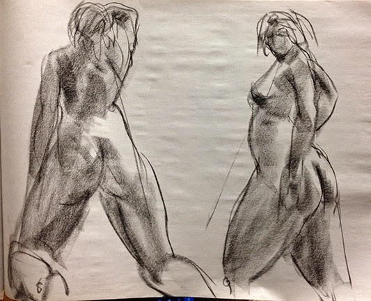 Nyack Center Figure Drawing October 2 Figure Drawing