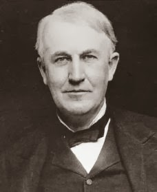 Thomas Alva Edison as an adult