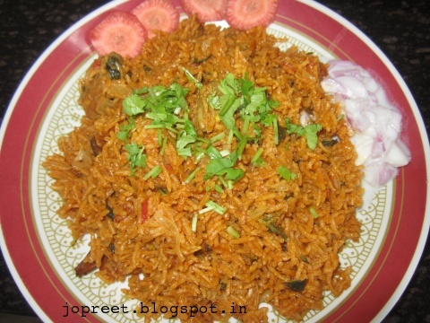 how to prepare ghee rice in tamil language