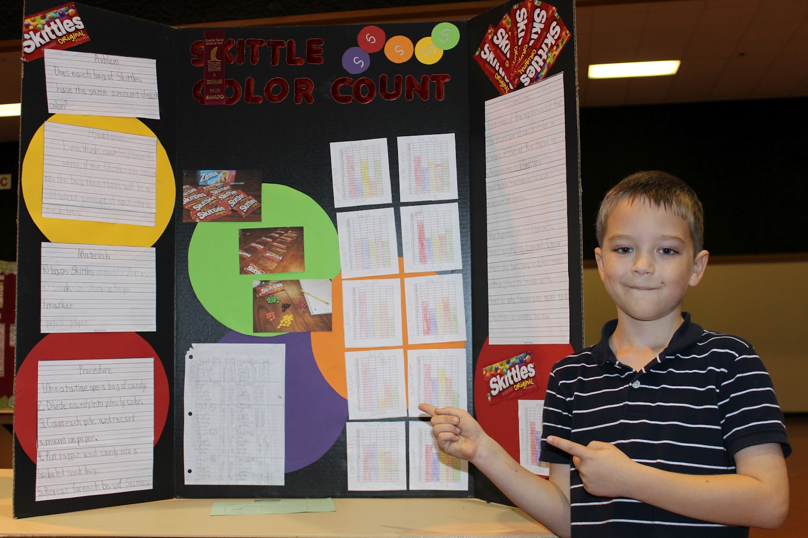 Skittles Science Projects http://cupofdaisies.blogspot.com/2012/03/winning-science-fair-project-william.html
