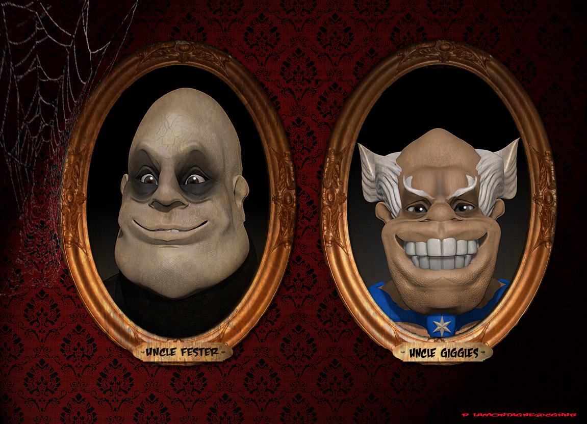 Vault Of 3d Sculpts My Favorite Creepy Uncles