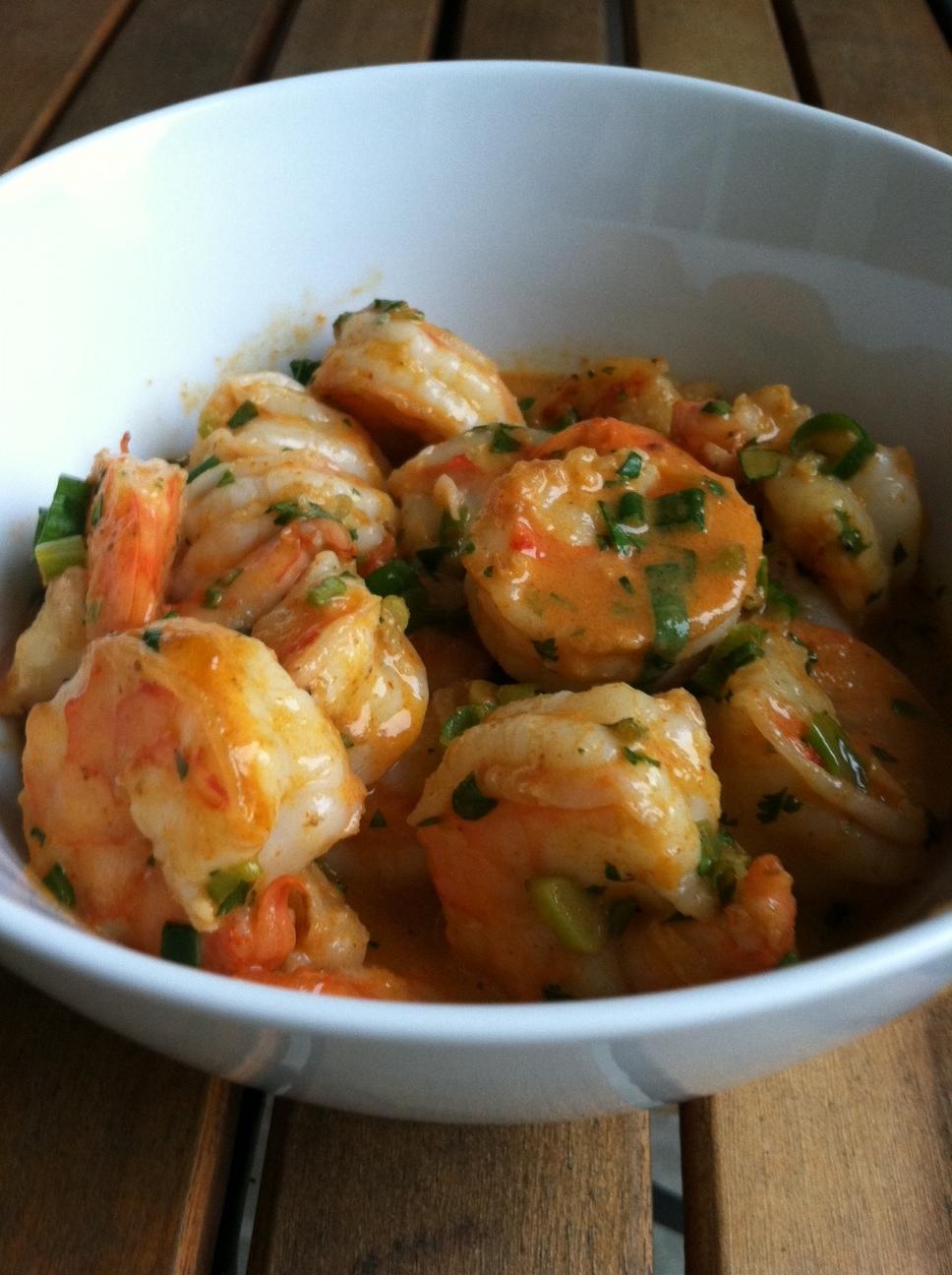 Taste of Home Cooking: Recipe Swap - Thai Coconut Curry Shrimp