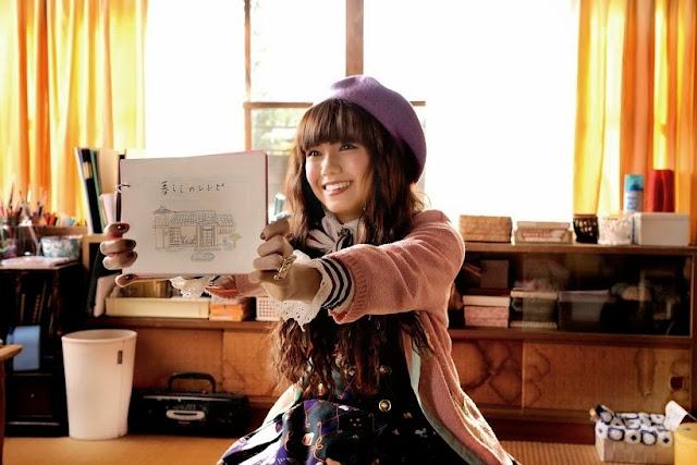 Fumi Nikaido Mourning Recipe cute japanese chick