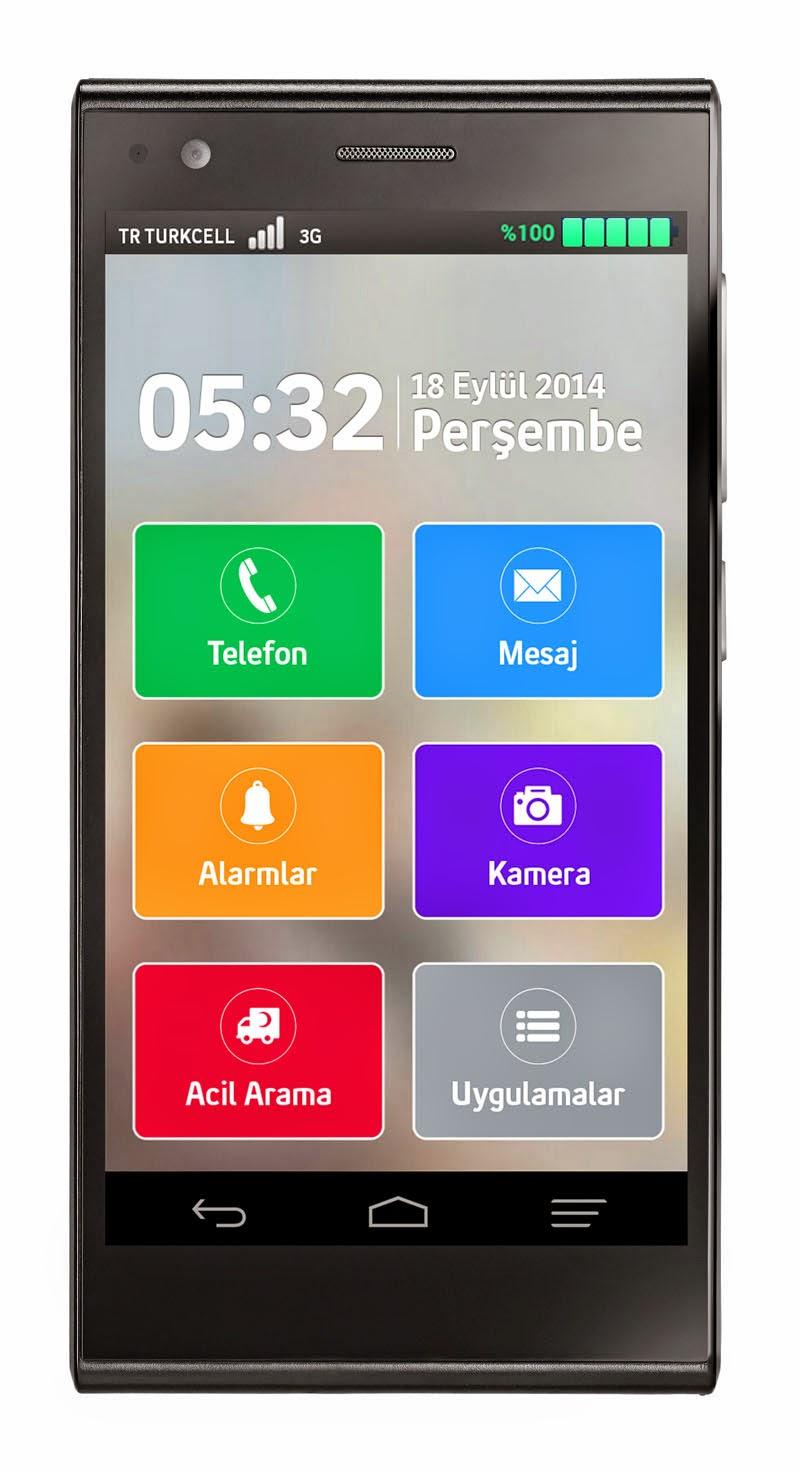 Turkcell T50 kolay kullanım desteği