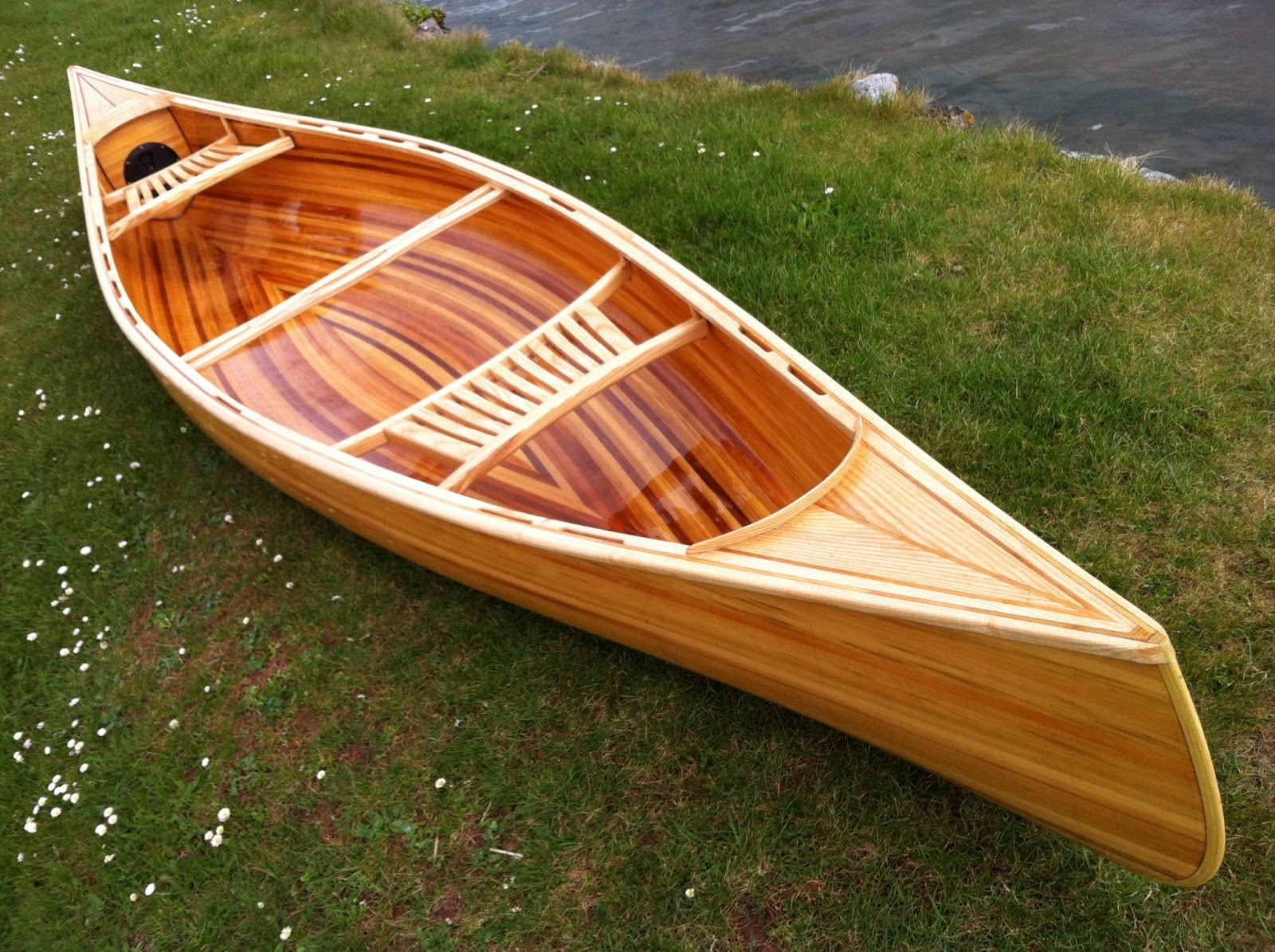 Current Projects 14 39 Strip Plank Canoe Final Update