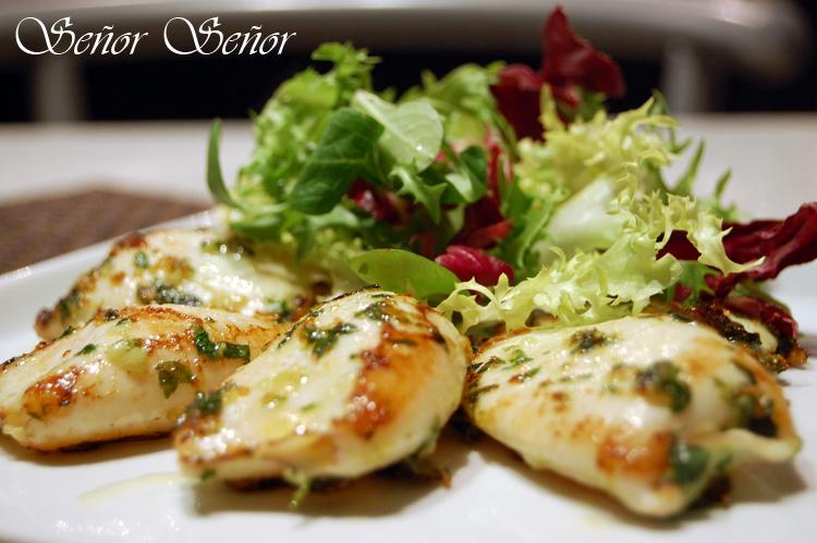 Ensalada templada de chipirones al ajillo receta de sergio - Primeros platos faciles y originales ...