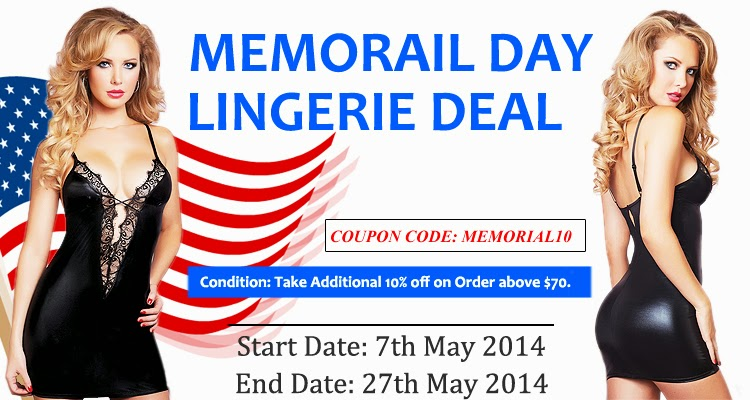 Memorial Day Lingerie Deal