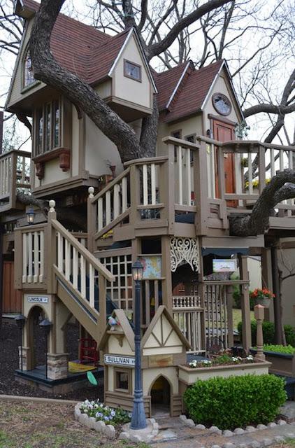 La casita del árbol más increible del mundo