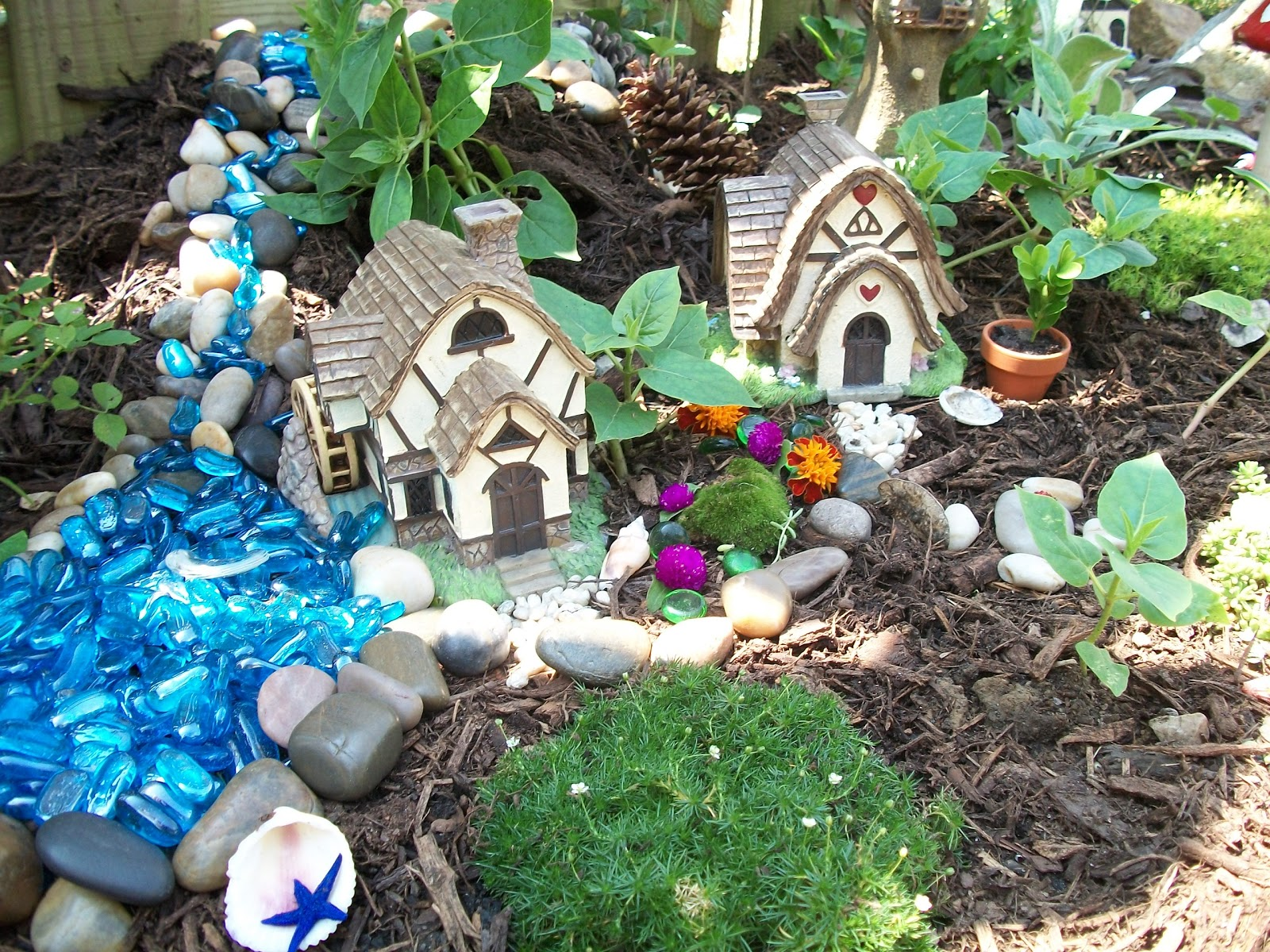 Garden glitter for Fairy garden images