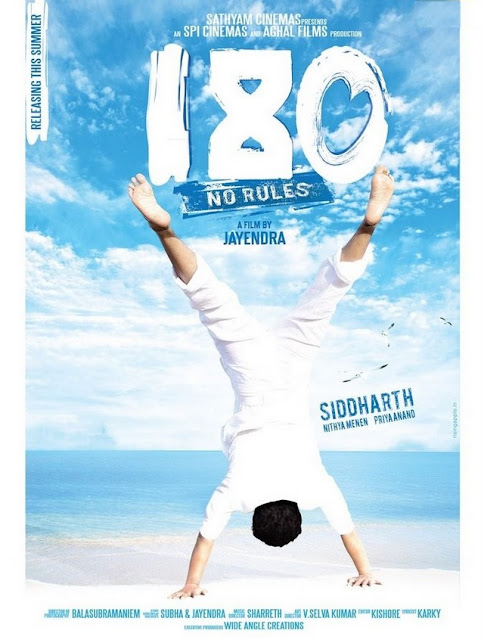 Siddharth Latest Telugu Movie 180 - No Rules First Look
