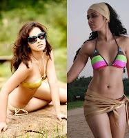 Priyanka kothari in two peice Bikini