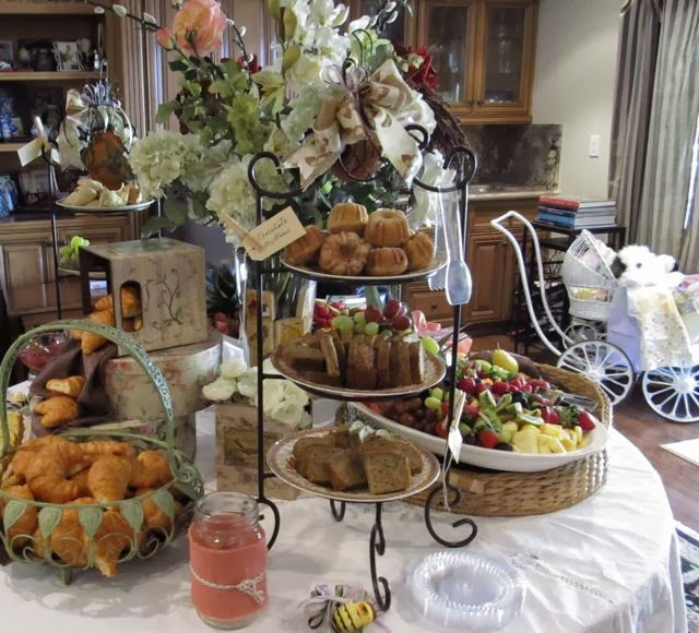 Fruit And Pastry Table