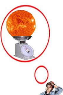 Bagaimana mengetahui massa matahari