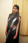 Model Shehnaaz Glam pics in saree-thumbnail-4
