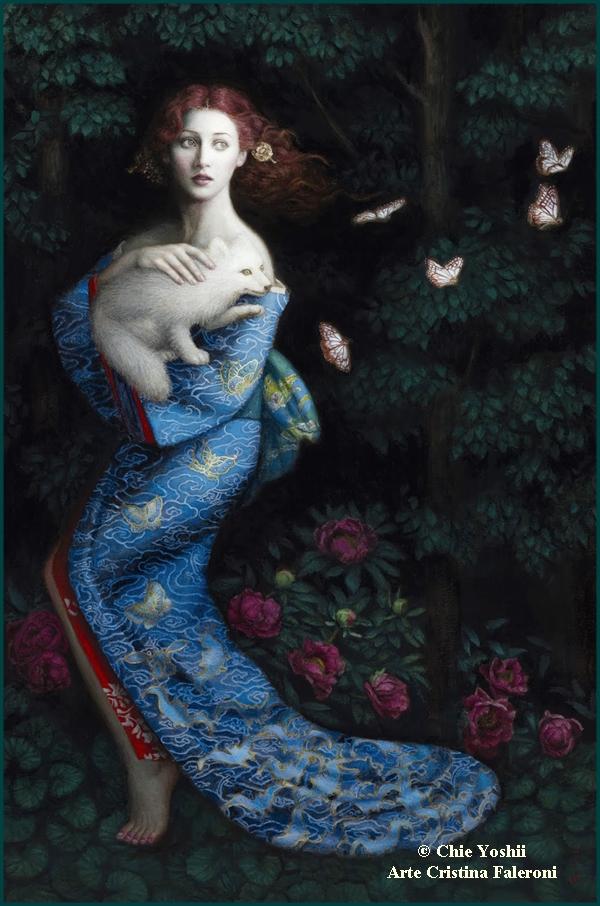 Painter Chie Yoshii.