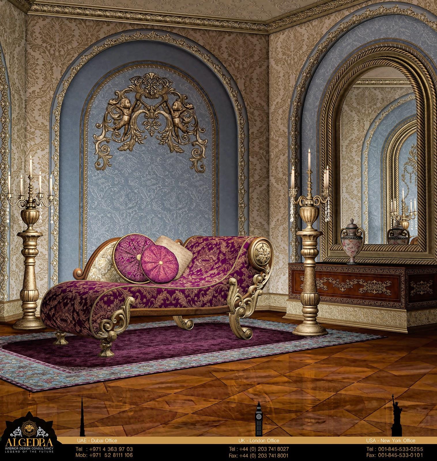 baroque style interior design by algedra