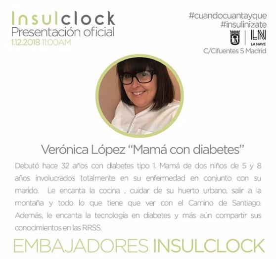 Embajadora De Insulclock