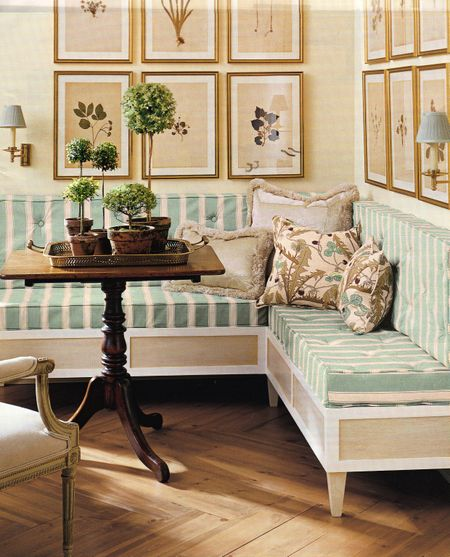 Build Banquette: C.B.I.D. HOME DECOR And DESIGN: EXPLORING WALL COLOR