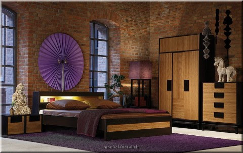 dormitorios japoneses dormitorios con estilo. Black Bedroom Furniture Sets. Home Design Ideas