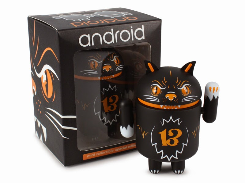 Lucky Lucy Halloween Android Mini Figure by Andrew Bell