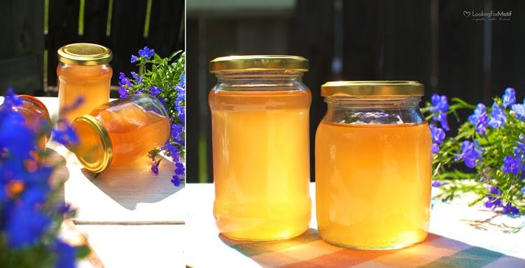 syrop kwaitów akacji, syrop do herbaty, DIY,