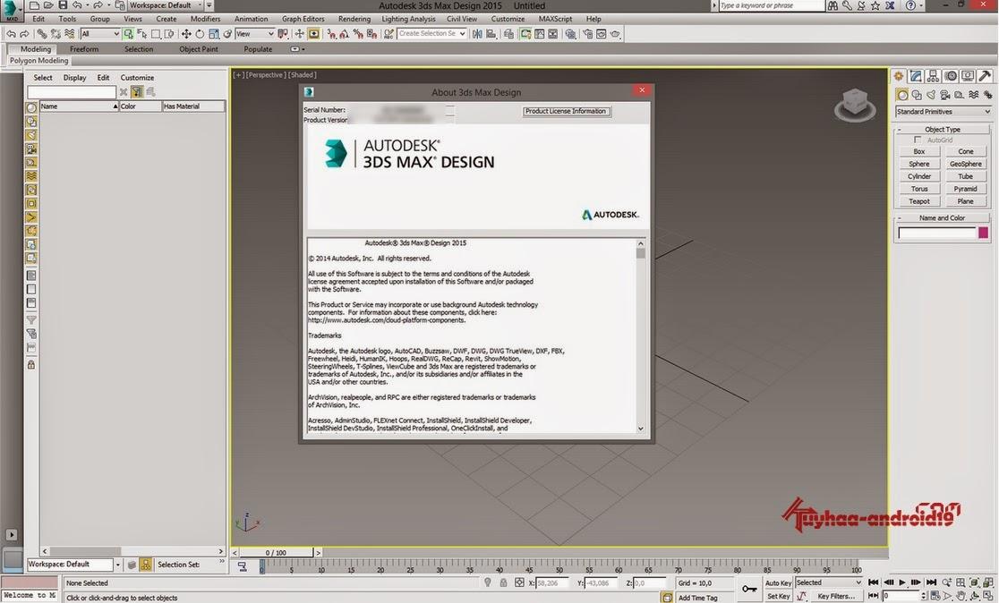 Autodesk 2015 MAX design