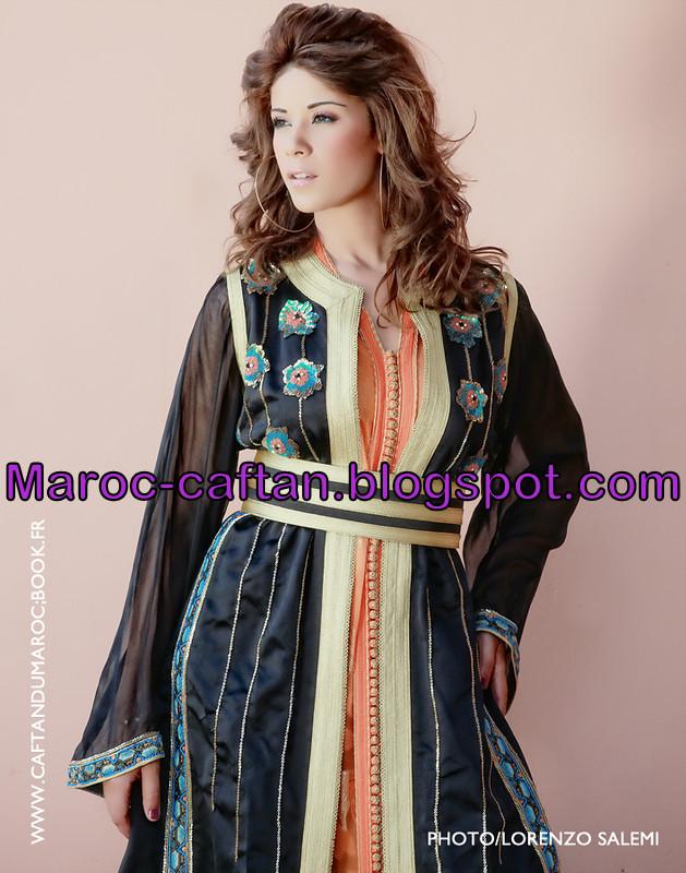 Modèle caftan marocain