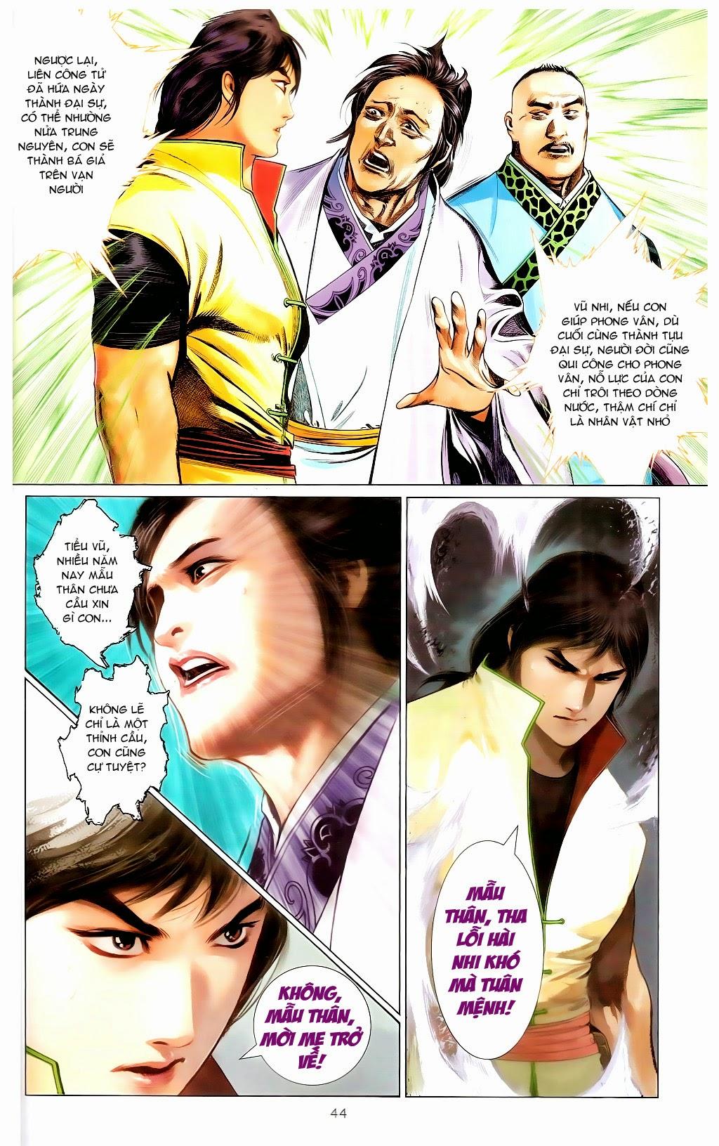Phong Vân Chap 665 - Trang 43