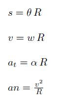 aceleracion normal tangencial velocidad angular