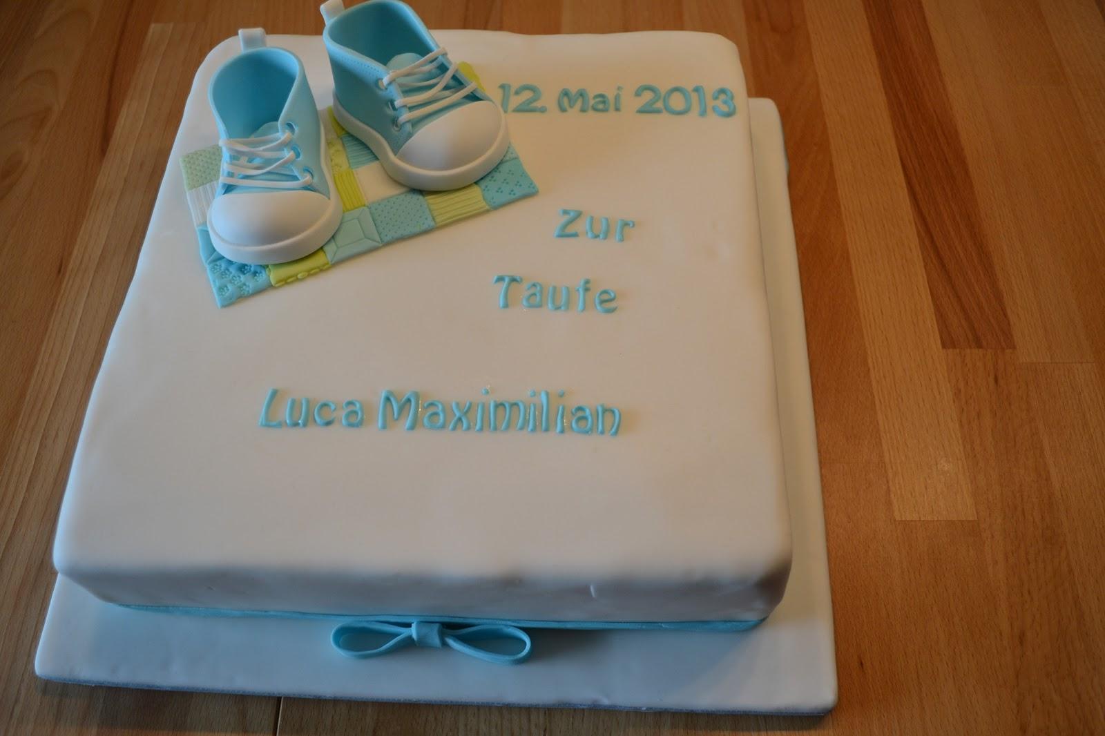 Getortet zur taufe prinregenten torte mit sneakers - Torte zur taufe junge ...