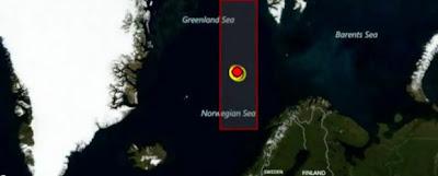 CIENTIFICOS ASEGURAN QUE ONDAS DE CHOQUE DE FUSION DEL CASQUETE POLAR PROVOCA TERREMOTOS Arctic-earthquakes-3-620x250